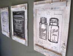 Wall Blueprints Pallets And Calendars Diy Wall Art Scavenger Chic