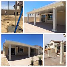 Aluminum Patio Covers Dallas Tx by Alumawood Patio Cover Details 15x34 Steel Posts And Header