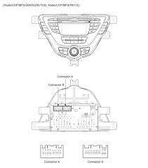 2010 hyundai elantra radio wiring diagram wiring diagrams