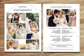 wedding photography price list v349 flyer templates creative