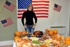 caprice photos photos thanksgiving meal for the homeless by