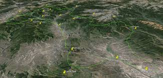 Vail Mountain Map Vail Scenic Air Tour Alpine Air Tours