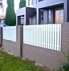 modern picket fence thesouvlakihouse com