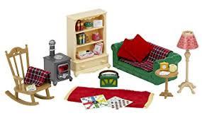 Sylvanian Families Cosy Living Room Set Amazoncouk Toys  Games - Sylvanian families luxury living room set