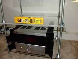 Homemade Stereo Cabinet Diyrack