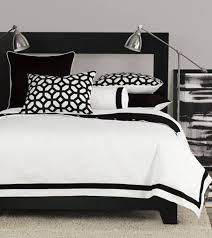 Black And White Bedroom With Color Accents Home Design Classic Contemporary Interior Design In Black And