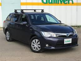 2009 Toyota Corolla Roof Rack by 2014 Toyota Corolla Fielder Hybrid G Used Car For Sale At