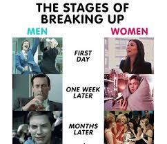 Men And Women Memes - break up memes men vs women weneedfun