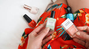 summer nail shades for holiday style lobster