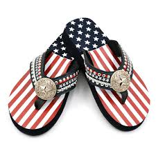 American Flag With Yellow Fringe Wholesale Shoes