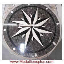 amsterdam 36 waterjet medallion medallionsplus com floor