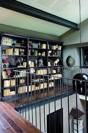 ornaments bookshelf ideas living room study design ideas