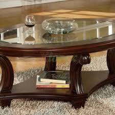 furniture awesome oval coffee table for your living room design