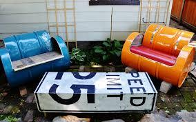 Modern Custom Furniture by White U0027s Modern Industrial