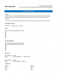 7 free blank cv resume templates for download u2013 free cv template
