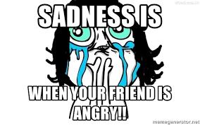 Meme Generator Crying - crying girl meme generator mne vse pohuj