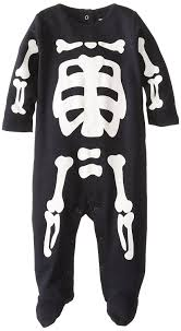 Halloween Skeleton Bodysuit Amazon Com Carter U0027s Halloween Snap Skeleton 3 Months Baby