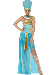 Egyptian Princess Halloween Costume Goddess Nefertiti Ladies Fancy Dress Ancient Egyptian Queen Womens