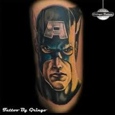 nick fury avengers tattoo avengers tattoos by gringo pinterest