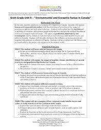 unit 9 canada environment u0026 economics