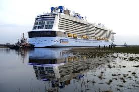largest cruise ship in the world ovation of the seas the biggest cruise ship based in australia
