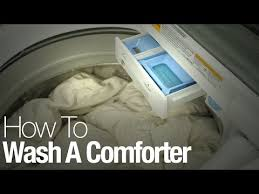 How To Wash Comforter Comforter