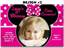 minnie mouse photo invitation template u2013 orderecigsjuice info
