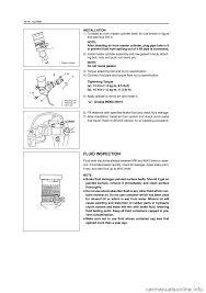 suzuki grand vitara 2005 2 g service workshop manual