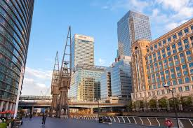 video tour of london canary wharf and the docklands new york