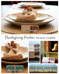 making thanksgiving cards 23 sets of free printable thanksgiving place cards