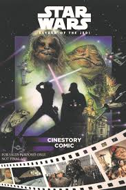 star wars return of the jedi cinestory comic wookieepedia