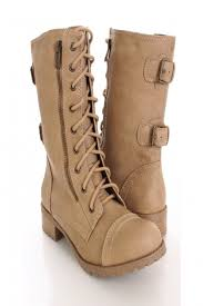 light brown combat boots light camel faux leather lace up stylish combat boots they don t