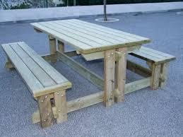 cache conteneur bois aménagement extérieur tables pique nique pyrénées equipements