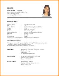 basic resume template basic resume exles for pw9 org