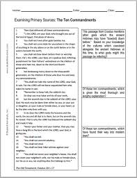 ten resume writing commandments the ten commandments dbq document based question in printable