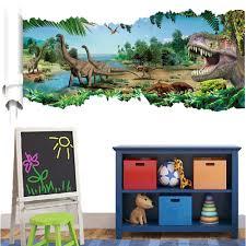 Dinosaur Home Decor by Jurassic World Dinosaur Wall Sticker Art Vinyl Decals Kids Room