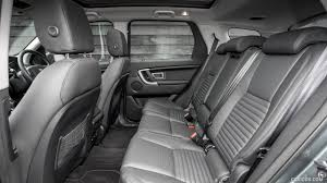 land rover discovery interior 2016 land rover discovery sport hse luxury interior rear seats