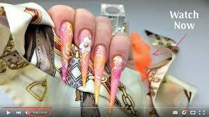 magic gel system blooming magic gel nail tutorial youtube