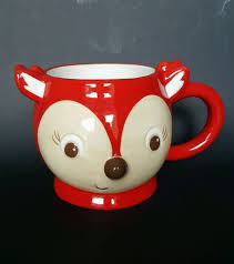 Fox Mug by Red Fox Coffee Mug Tea Cup Large Round 16 Fl Oz Target Fall