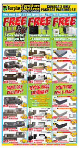 Furniture Warehouse Kitchener Surplus Furniture And Mattress Warehouse Canada Flyers