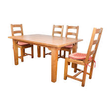 crate and barrel farmhouse table 87 off crate and barrel crate barrel french farm dining set
