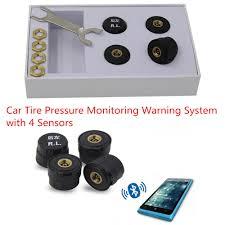 lexus ls 460 tire pressure monitor bluetooth tpms car tire tyre pressure monitoring alarm warning