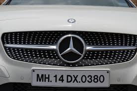 diamond benz mercedes a class a180 diamond grill indian autos blog