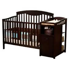 Convertible Crib Changing Table Delta Espresso Crib Changing Table And Crib Cribs Pinterest Crib