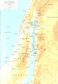 Biblical Map Palestine In The New Testament Times U2013 Map Jesus Reigns