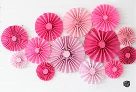 paper fan decorations diy paper fan backdrop for 10 destination nursery