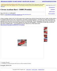 Alb Craigslist Free by For 4 000 Vivre Dans Un Van Au Bord De La Riviere