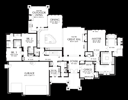 mountain architecture floor plans mascord house plan 2477 the millersburg