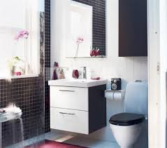 Black Bathroom Storage Marvelous Small Bathroom Storage Ideas Ikea Using Floating White