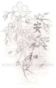 cherry blossom tattoo by metacharis on deviantart